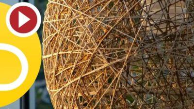 DIY Yarn Lamp, Best Video Tutorial