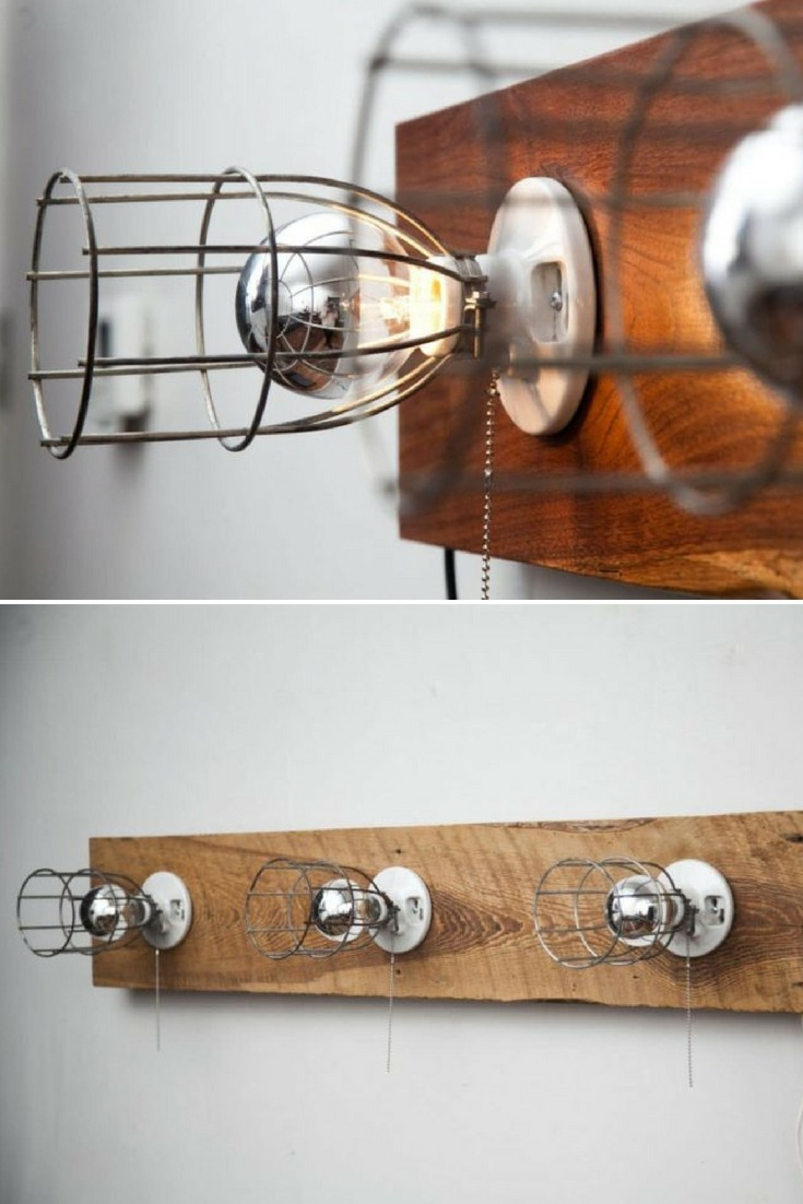 Light Sonce in Walnut Wall Sconce - wood-lamps, wall-lights-sconces