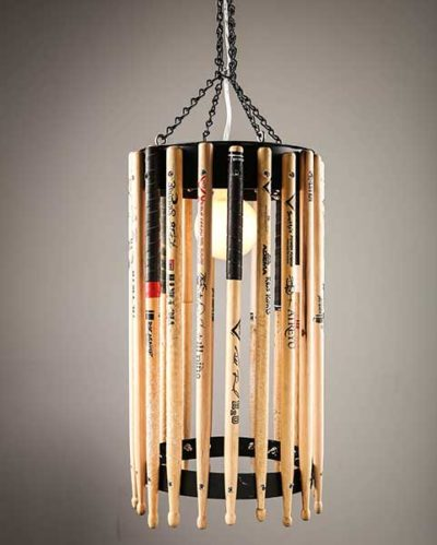 Open Drum Stick Chandelier