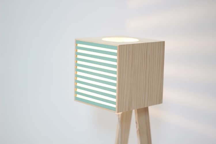 Perfect Christmas Gift Trendy Wooden Lamp to Build