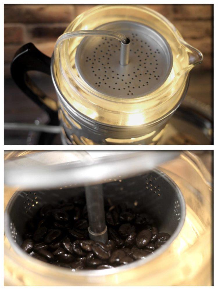 Re-purposed Froman Coffee Maid 4 Man Pyrex Perculator Coffee Pot2