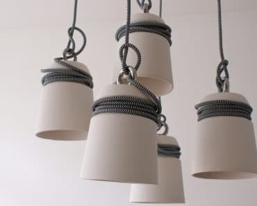 Ceramic and Steel Cable Lights
