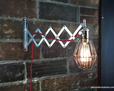 Industrial Wall Sconce - Scissor Lamp