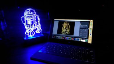 R2-D2 Star Wars Lamp