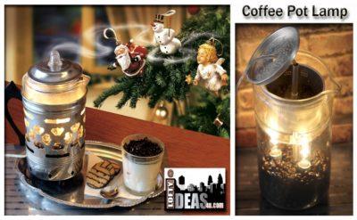 Re-purposed Froman Coffee Maid 4 Man Pyrex Perculator Coffee Pot new