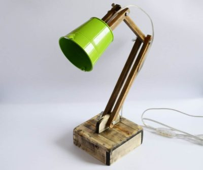 Wooden Reading Lamp