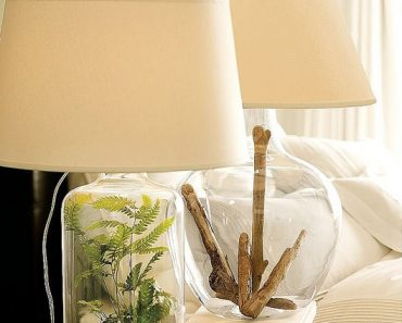6 Fillable Glass Lamp ideas