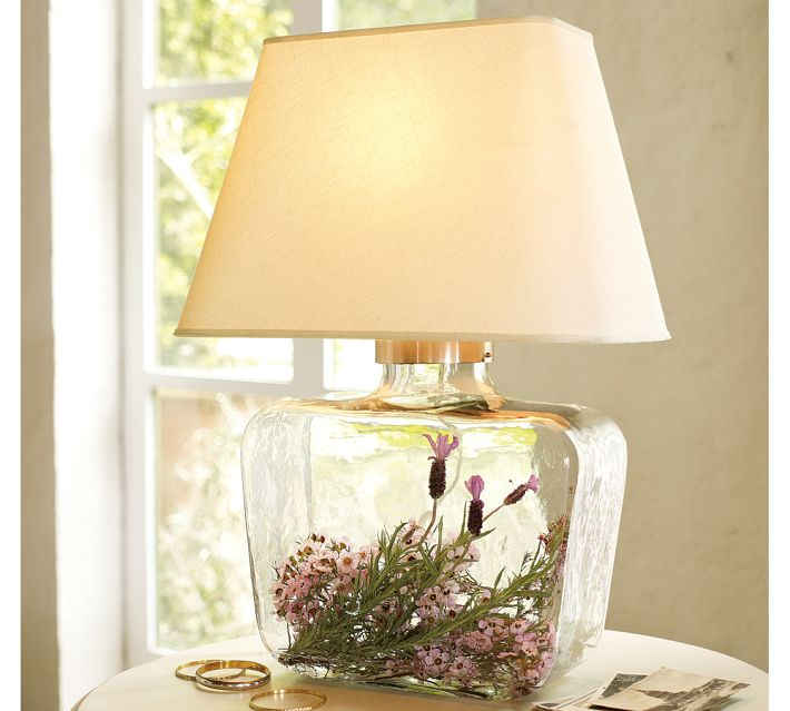 glass fillable lamp ideas table lamps wood lamps. Black Bedroom Furniture Sets. Home Design Ideas