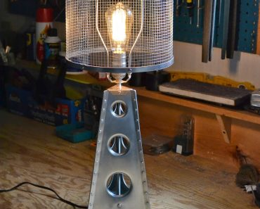 Aerospace Inspiration Lamp