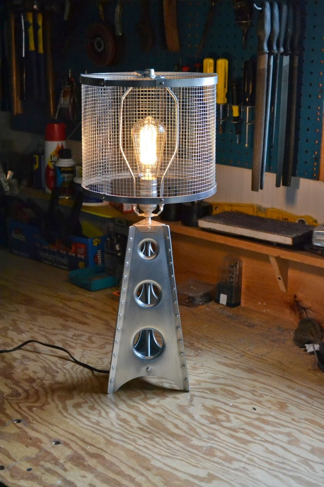 Aerospace Modern Industrial Table Lamp - table-lamps