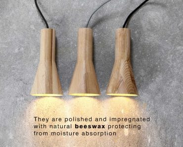 Beautiful & Simple Wood Lamp