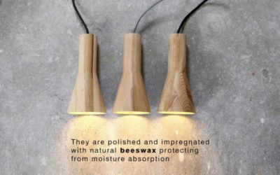 Beautiful & Simple Wood Lamp