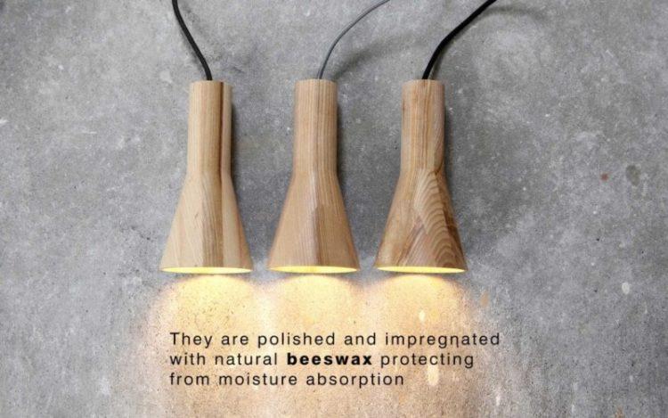 Beautiful & Simple Wood Pendant Lighting - wood-lamps, pendant-lighting