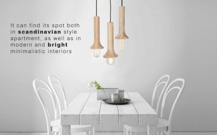 Beautiful & Simple Wood Pendant Lighting - wood-lamps, pendant-lighting