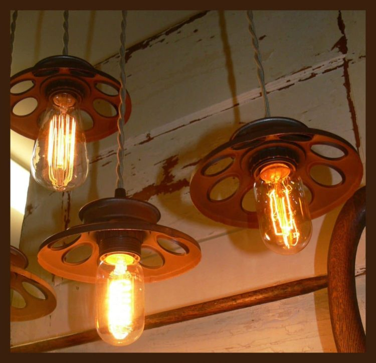 Chicken Feeder Chandelier Pendant Lighting - pendant-lighting