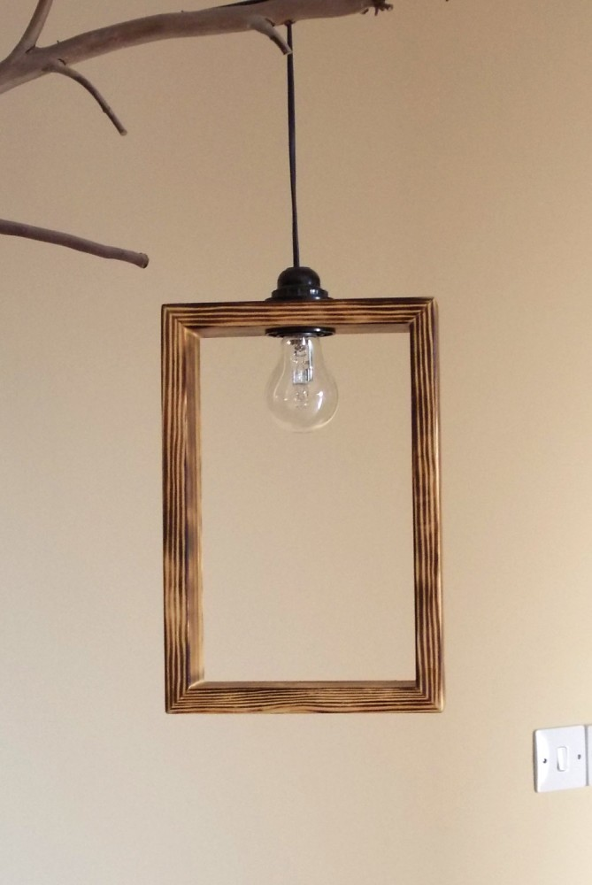 Cute Minimal Wooden Pendant Lighting Shade Id Lights