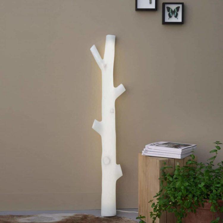 D+I Illuminated Tree Sconce & Floor Lamp - wall-lights-sconces, restaurant-bar, floor-lamps