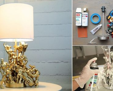 DIY Action Figure Lamp : Tutorial & Video