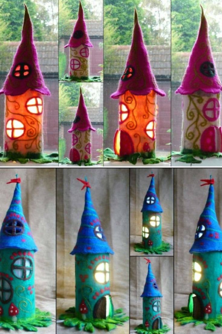 The lamps shown on the pictures already found some proud and happy owners and they are examples only. You can pick your own colors and I would make the lamp especially for you. As all my felted pieces are handmade and unique with their own little soul you will receive a similar lamp but not exactly the same. But I believe this is the beauty of unique handmade pieces. #bedroomdecor #bedside #diylighting #handmadelighting #lamp #lighting #lightingdesign #recycle #tablelamp #vintagelighting