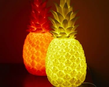 Luminous Pineapple Lamps