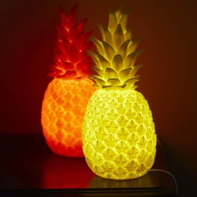 Luminous Pineapple Lamps