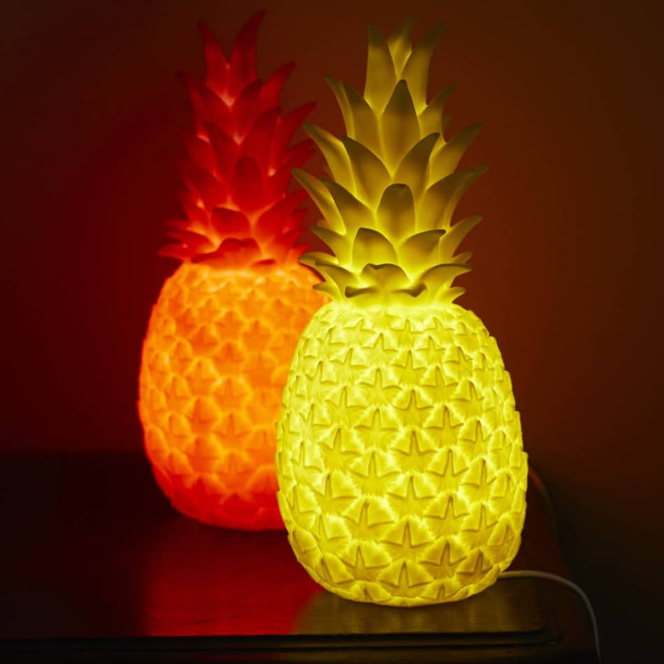 Luminous Pineapple Table Lamps Id Lights