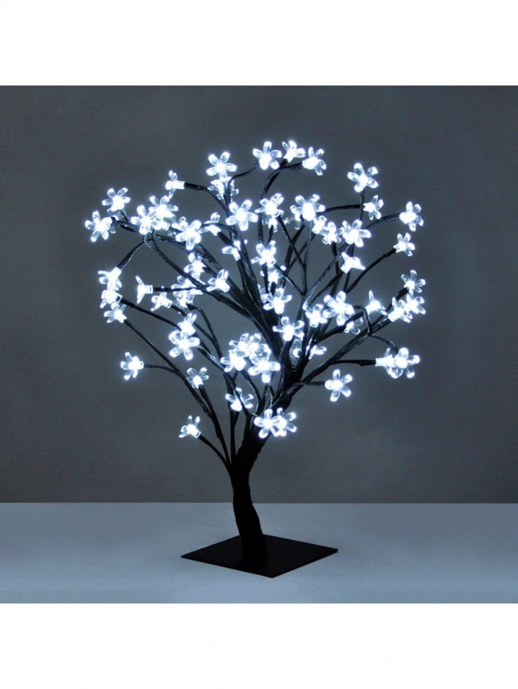 Sakura Tree Table Lamp White Led • iD Lights