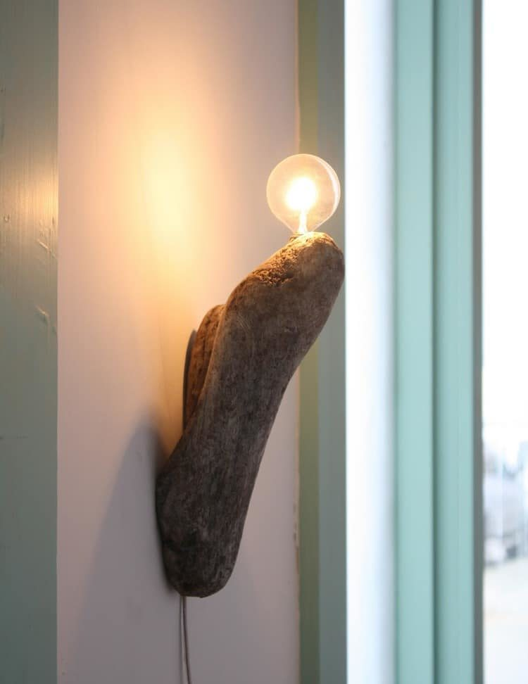 Simple Wooden Desk Lamp #2 - Wall Light Wood Lamp