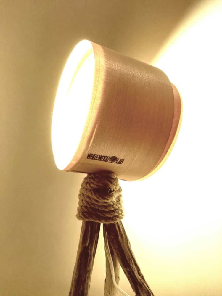 Whitewood Table lamp Tripod