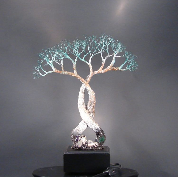 Wire Tree Of Life Lamp Id Lights