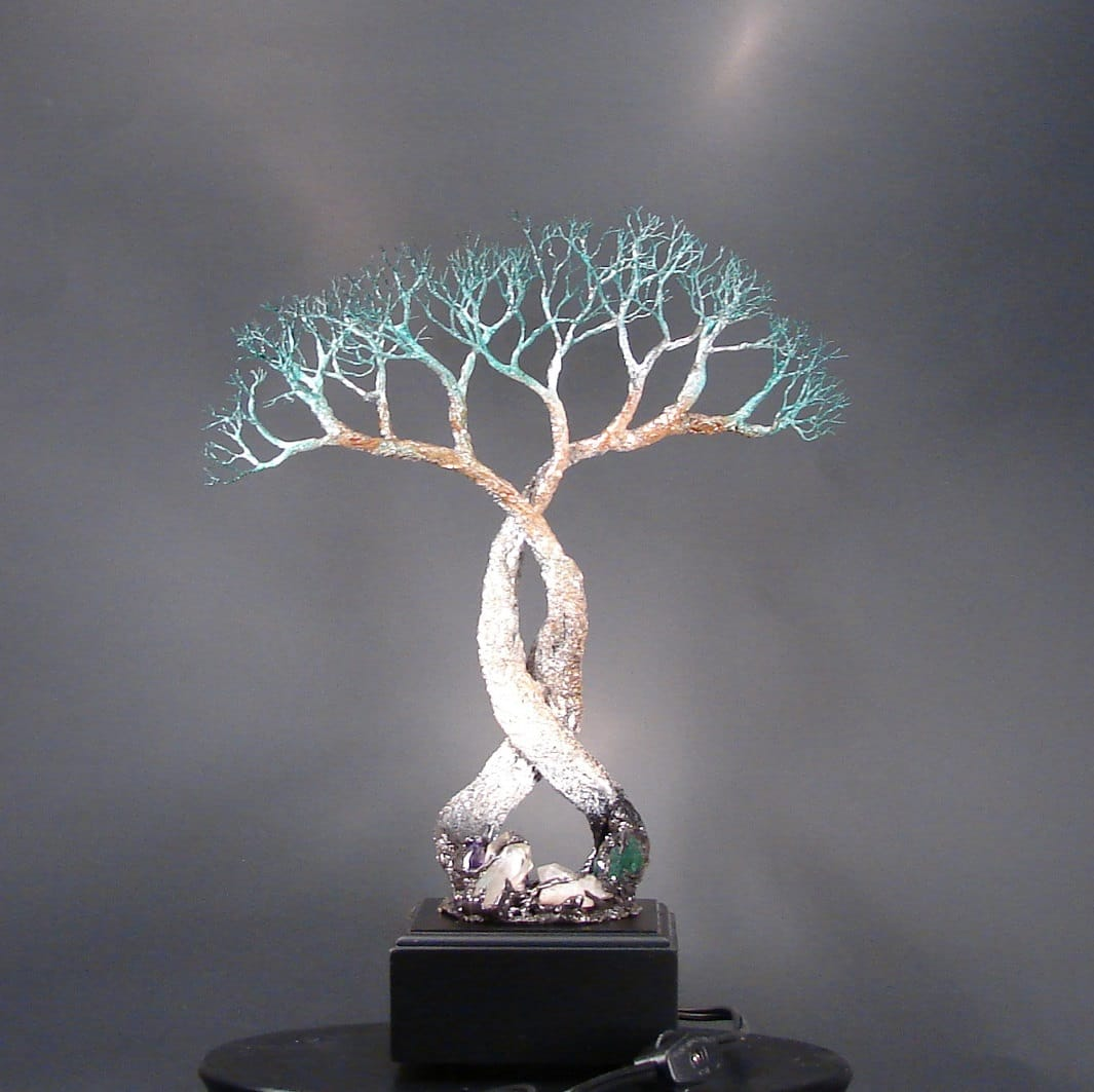Wire Tree Of Life Soul Mates Table Lamp Id Lights