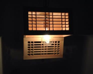 Wooden Rectangular Lamp Shade
