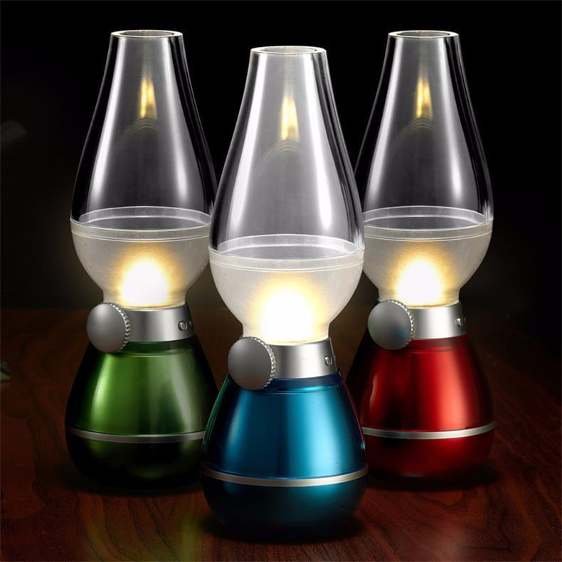 Blowing Control Table Lamp 2 - Table Lamps - iD Lights
