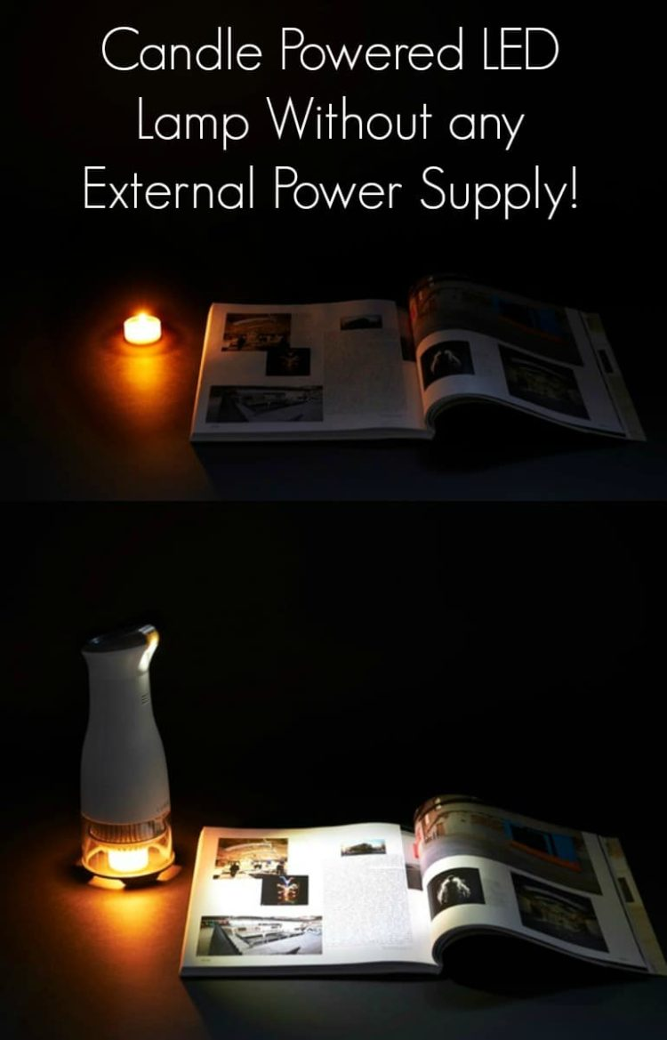 Candle Powered LED Desk Lamp Desk Lamps