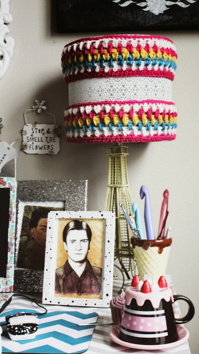 DIY: Crocheted Pendant Lighting Cozy Pendant Lighting