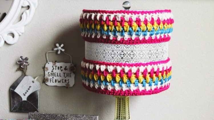 DIY: Crocheted Lamp Cozy