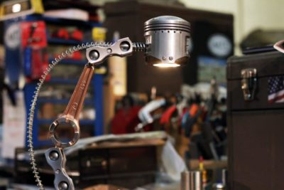 American Piston Lamp