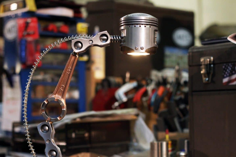 American Piston Desk Lamp  iD Lights