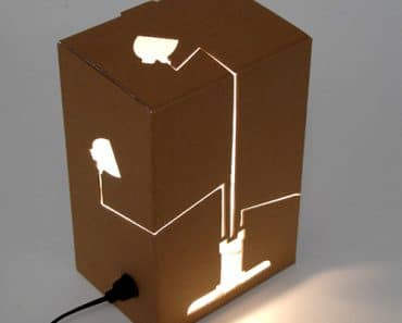 Not a Lamp Not a Box Lamp