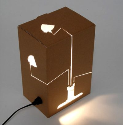 Not a Lamp Not a Box Lamp