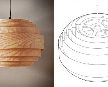 wood veneer lighting. wood veneer boll chandelier pendant lighting