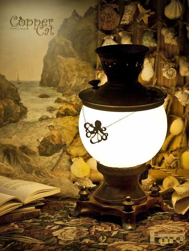 Antique Table Lamp Faro - table-lamps
