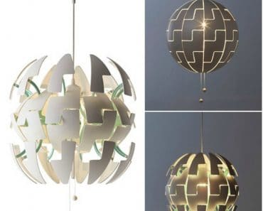 Death-Star IKEA Suspension Inspired by Science Fiction and Video Games