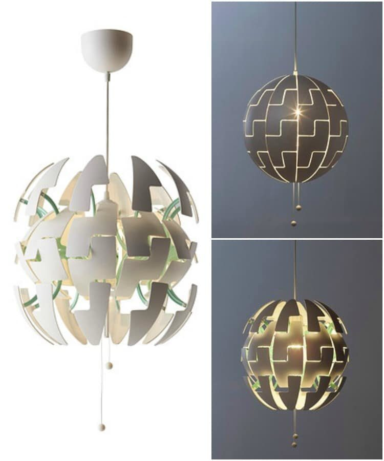 Death-Star IKEA Lighting Chandelier