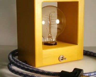 Simple Modern Cube Lamps