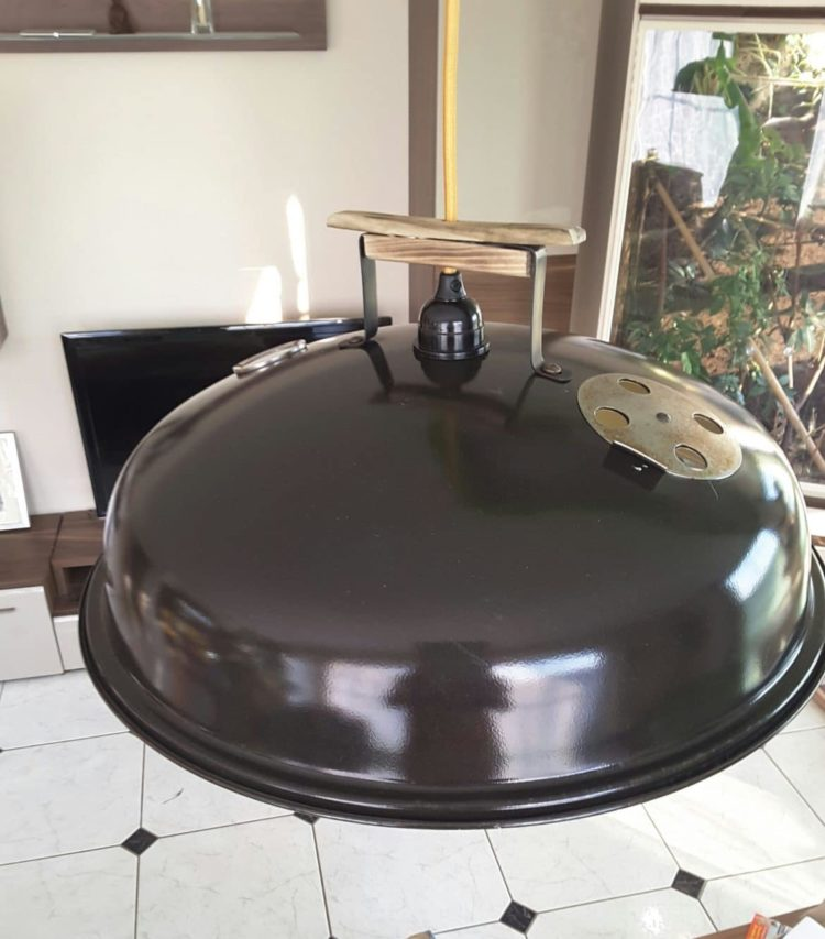 Barbecue Cover Pendant Lamp