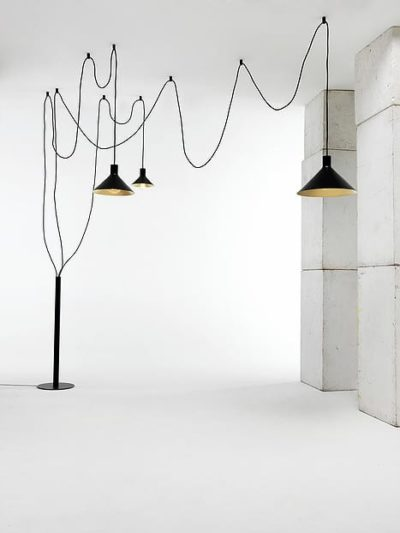 Cerberina Floor Lamp by Filippo Mambretti