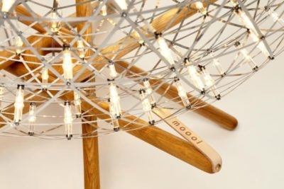 Raimond Tensegrity Sphere Floor Lamp