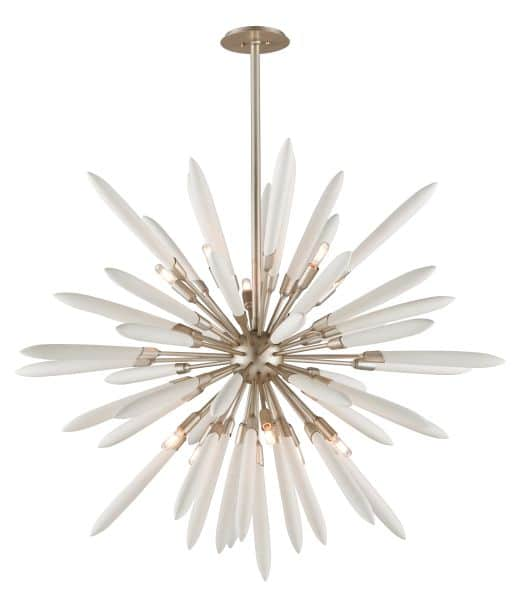 This Interstellar Light Fixture Is Inspired by Sputnik - chandeliers