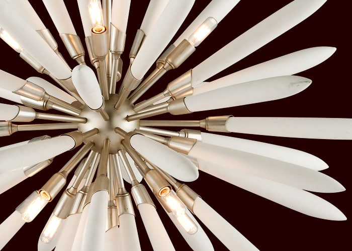 This Interstellar Light Fixture Is Inspired by Sputnik Chandeliers